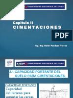 2.-  CIMENTACIONES