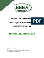 Manual Tecnico BSBA-15-25 e 36D - BSBA COMPRESSORES.pdf