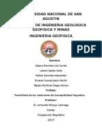 Trazabilidad de Las Mediciones de Susceptibilidad Magnetica