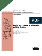 Cuaderno Tema Violencia