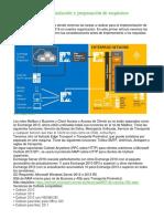 Exchange 2016 – Instalación y Preparación de Requisitos