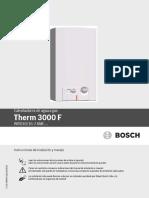 Manual de Usuario Therm 3000F 10L y 16L CO 1