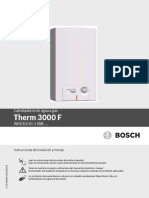 Manual de Usuario Therm 3000F 10L y 16L CO 1