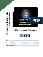 1 Windows Seven CIMA's 2013