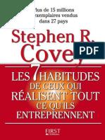 Covey Stephen R-Les 7 Habitudes de Ceux Qui Réalisent Tout Ce Qu'Ils Entreprennent