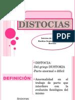 DISTOCIAS RUIDIAS