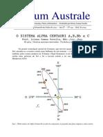 O Sistema Alpha Centauri A, B, Bb e C