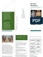 social studies pamphlet