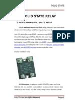 MAKALAH Solid State Relay