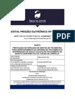 Pregao Eletronico 0182017 Edital Pe 018-17-1465 Aguas de Joinville