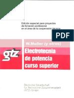 Electrotecnia de potencia curso superior