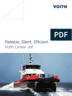 Voith Linear Jet Propulsion