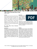 research brief - alvin ho