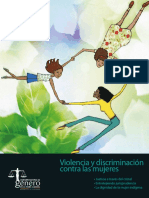 USAID. Violencia y Discriminacion Contra Las Mujeres. Bogotá, USAID, 2013