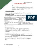 Chapitre 5 - La Formation