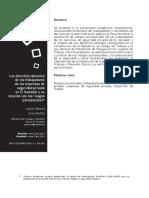 Los Derechos Laborales de Los Trabajadores en Las Empresas de Seguridad Privada en El Salvador