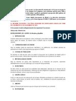 Guía Para Presentacion Del Proyecto