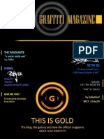 GOLD Graffiti Magazine, No.1