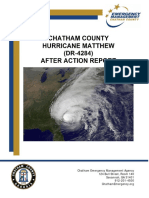 After Action Report DR-4284 Hurricane Matthew FINAL