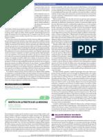 Bioética en La Práctica de La Medicina