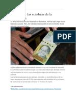 La Sombra de La Bancarrota Venezolana