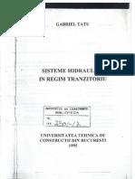 Tatu G. - Sist. Hidraulice in Regim Tranzitoriu