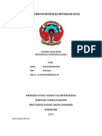 laporan komunikasi serial
