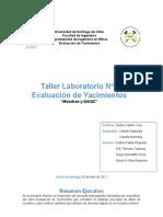 Taller N1 Evaluacion de Yacimientos
