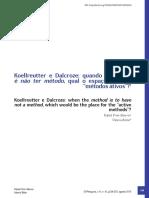 MEURER, R.;BITTAR,V - Quando o método é naõ ter método qual o espaço para os metodos ativos.pdf