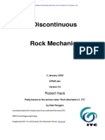 2006 Hack Discontinuous Rock Mech5