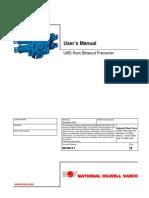User Manual RAM BOP