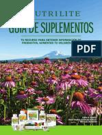 Guía de Suplementos Nutrilite COMPLETA