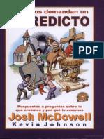 Josh McDowell - Los Niños Demandan Un Veredicto
