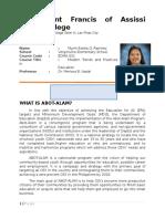 Abot Alam Report
