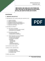 Informe Tecnico - Estudio de Mecanica de Suelos
