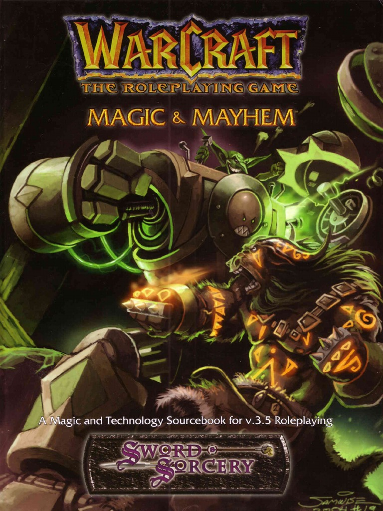 Warcraft RPG - Magic _ Mayhem pdf   Races And Factions Of