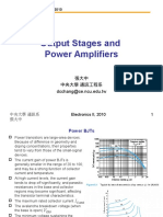 Ch8 Output Stages and Power Amplifiers