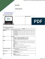 Notebook HP 245 G3 - Descripción general