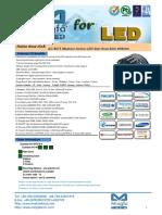 AC-9675 Modular Active LED Star Heat Sink Φ96mm