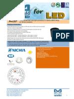 BuLED-30E-NIC LED Light Accessory to Replace MR16 Fitting for Nichia Modulars