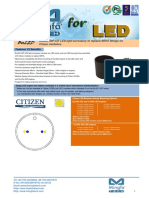 BuLED-30F-CIT LED Light Accessory to Replace MR16 Fitting for Citizen Modulars