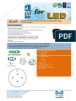 BuLED-30F-SEO LED Light Accessory to Replace MR16 Fitting for Seoul Modulars