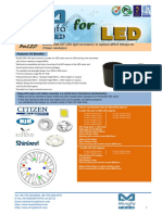 BuLED-50E-CIT LED Light Accessory to Replace MR16 Fitting for Citizen Modulars
