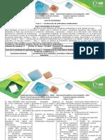Guia de Actividades - Fase 2 - Construcción de Indicadores Ambientales