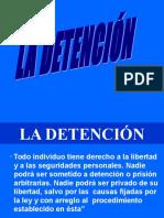 Exposicion Sobre Detencion de Personas