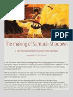 The Making of Samurai Shodown