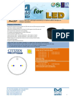 BuLED-50F-CIT LED Light Accessory to Replace MR16 Fitting for Citizen Modulars
