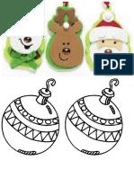 Navidad Para Colorear Con Los Niños