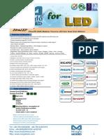 EtraLED-8580 Modular Passive LED Star Heat Sink Φ85mm