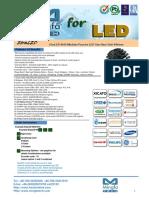 EtraLED-9620 Modular Passive LED Star Heat Sink Φ96mm